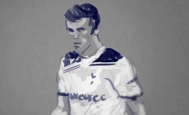 Animated Gareth Bale