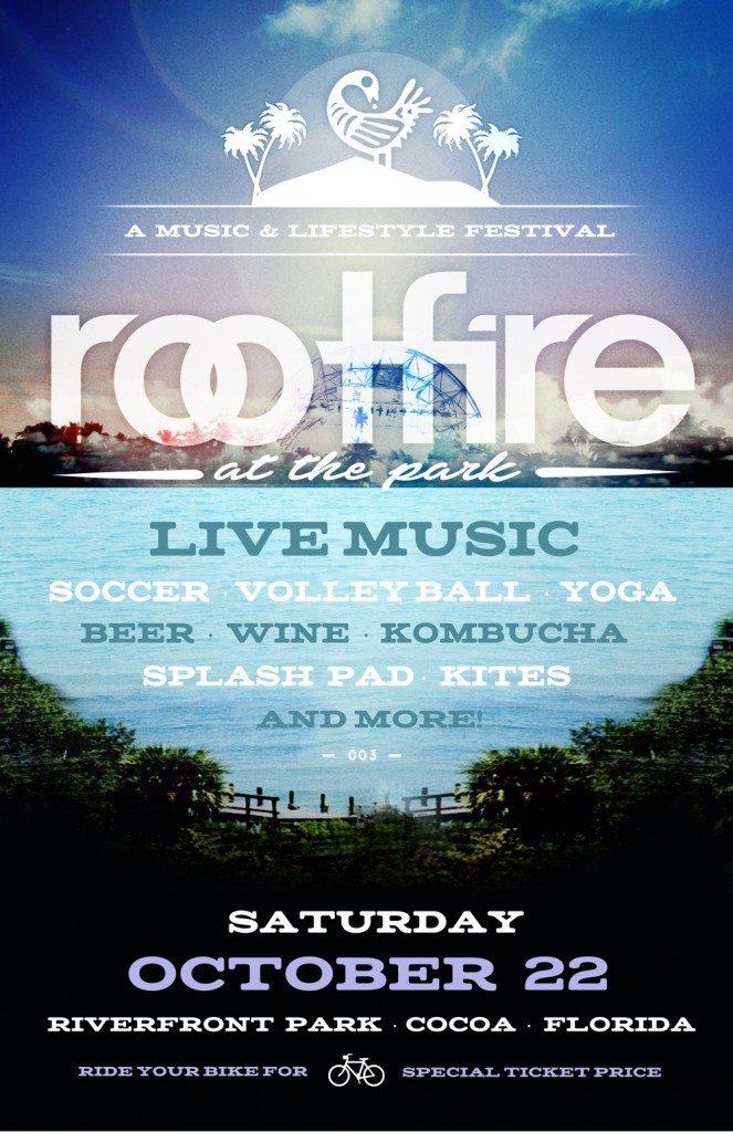 RF Park Social poster