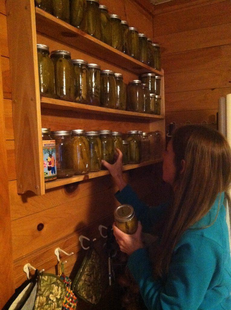Wall o' pickles