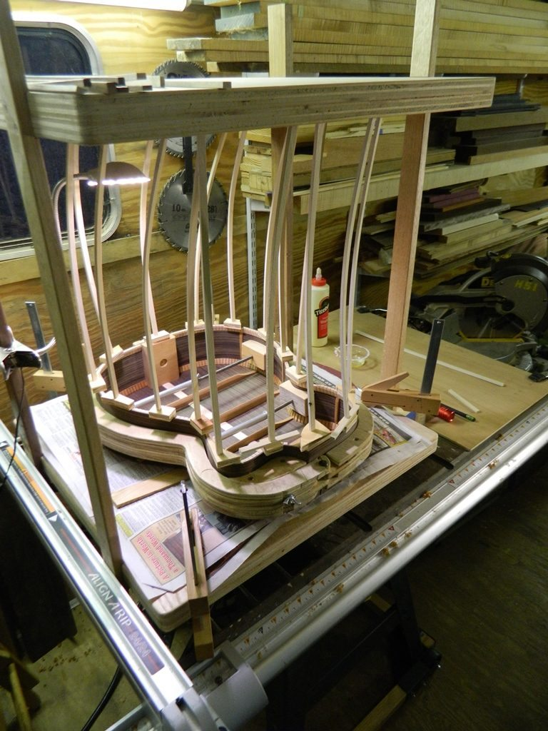 Gluing back to the rims- web