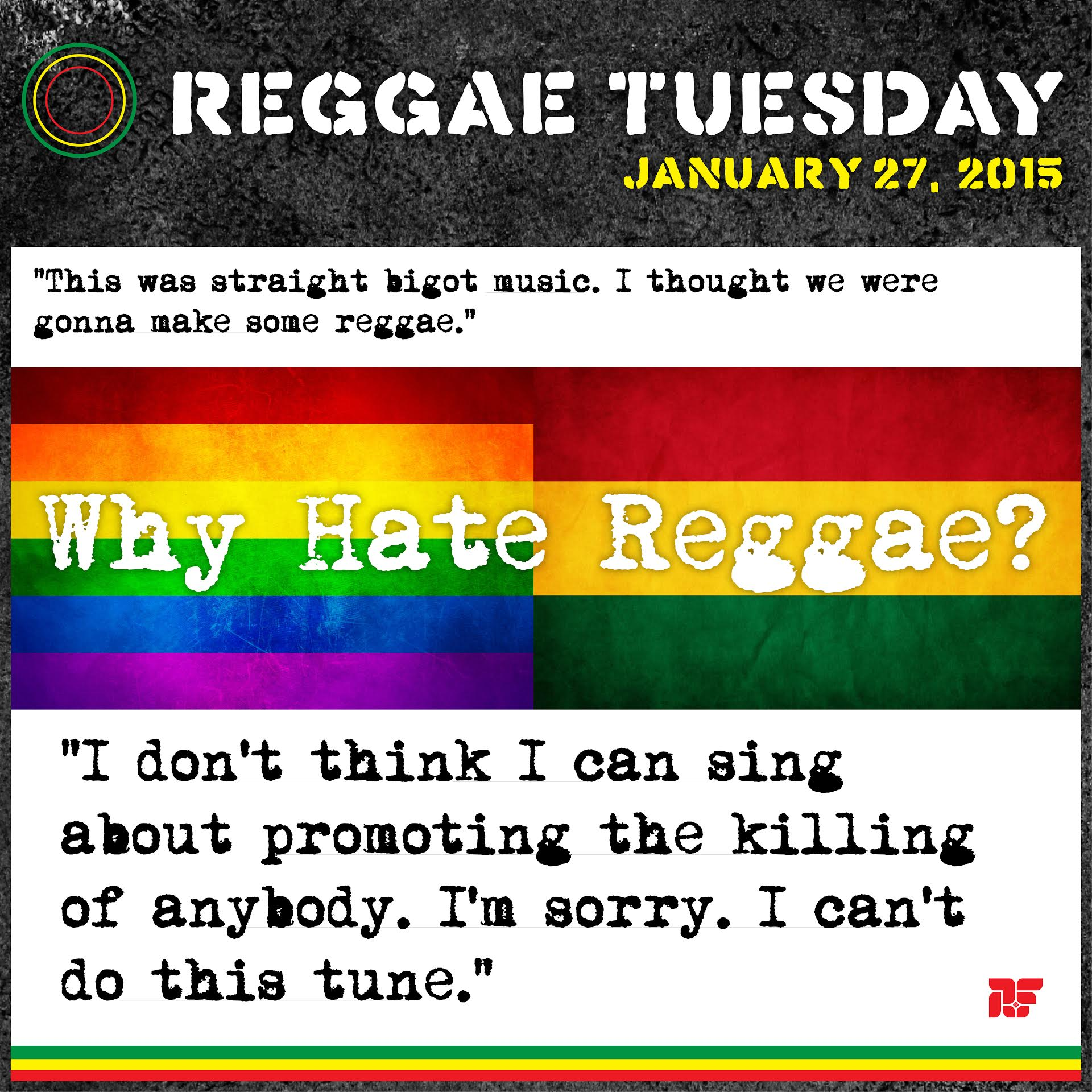Rastafarian beliefs on homosexuality in christianity