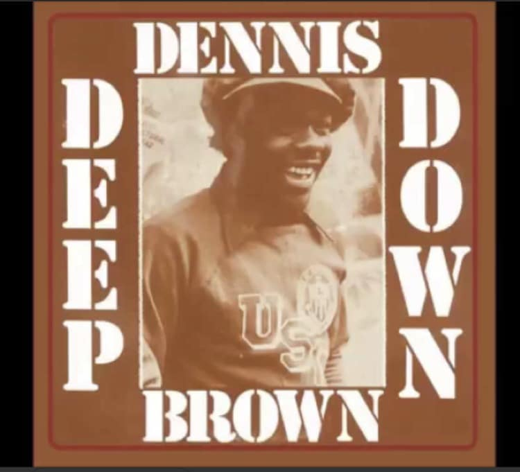 "Denis Brown ""Deep Down"" Throwback Thursday rootfire.net"