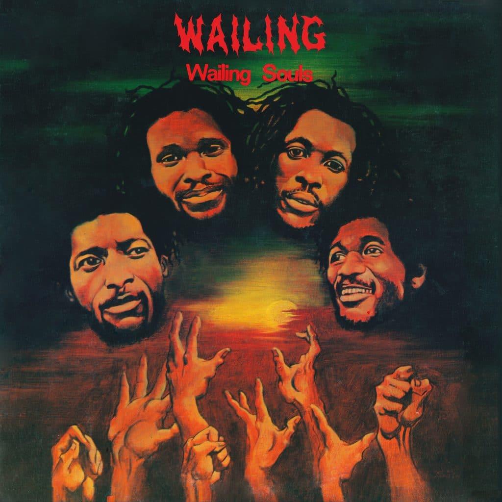 """Wailing Souls' 1981 """"Wailing"""" album cover"""